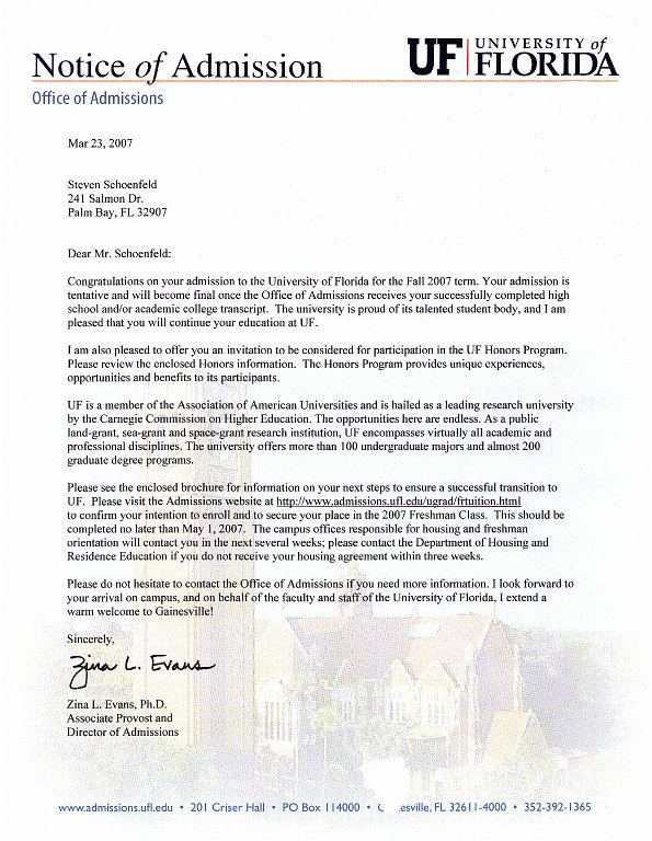 university acceptance essay The personal essay will allow the admissions staff to get to in addition to the freshman application the university recognizes that there is.